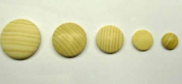 mezza sfera piatta diametro 1.5 cm