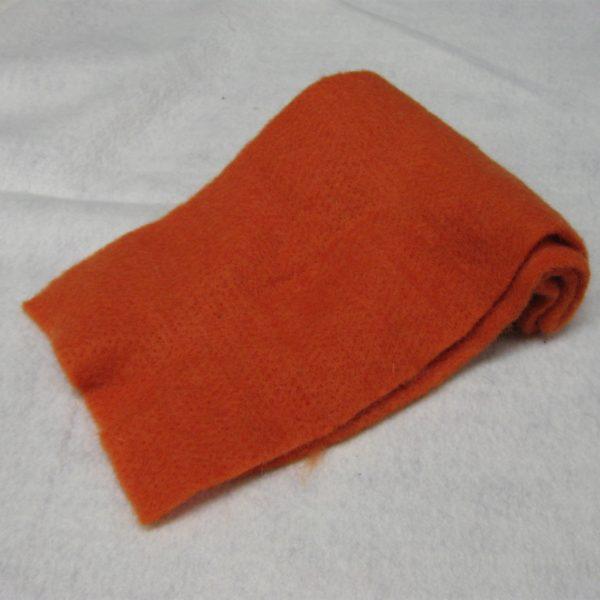 Panno lana arancione 50 x 70 cm