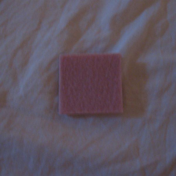 Feltro sintetico rosa vintage  M48