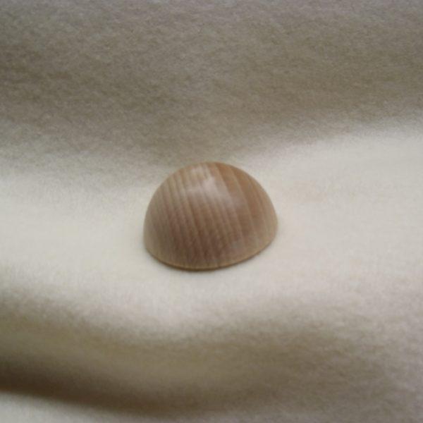 Mezza sfera di legno