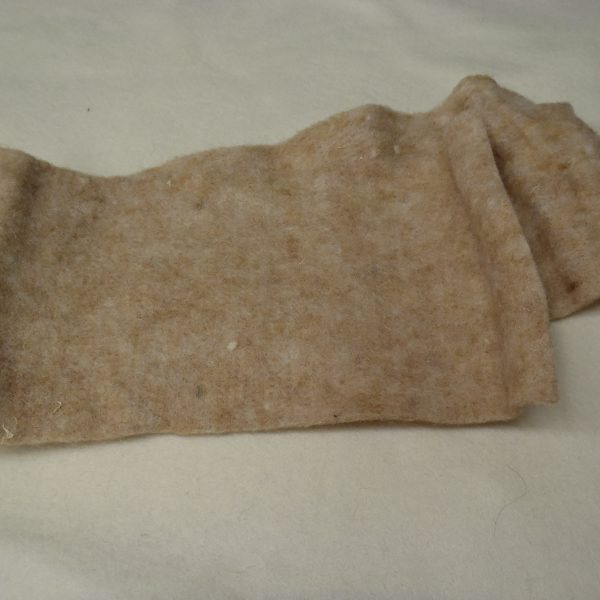 Panno lana beige